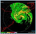Tropical Storm Ernesto Making Landfall Near Wilmington, NC