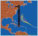 Hurricane Ensemble Model Plots of Tropical Storm Florence 2006